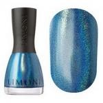 Фото Limoni Megashine Prizm 3D - Лак для ногтей с эффектом голографии тон 211, голубой, 7 мл