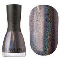 Limoni Megashine Prizm 3D - Лак для ногтей с эффектом голографии тон 212, темно-серый, 7 мл