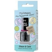 Limoni Mylimoni Glaze And Care - Глазурь для блеска ногтей, 6 мл