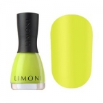 Фото Limoni Neon Collection - Лак для ногтей матовый неоновый тон 591, желтый, 7 мл