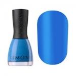 Фото Limoni Neon Collection - Лак для ногтей матовый неоновый тон 594, голубой, 7 мл