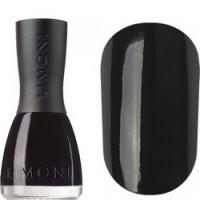 Limoni Romantic - Лак для ногтей тон 323 черный,7 мл фото