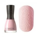 Фото Limoni Sandy Beach - Лак для ногтей с фактурой песка тон 762, бледно-розовый, 7 мл