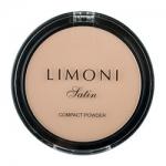Фото Limoni Satin Powder - Пудра компактная для лица тон 02, 10 гр