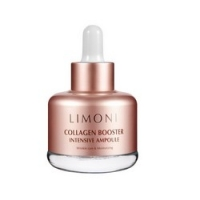 Купить Limoni Skin Care Collagen Booster Intensive Ampoule - Сыворотка для лица с коллагеном, 25 мл