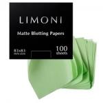 Фото Limoni Skin Care Matte Blotting Papers - Матирующие салфетки для лица, 100 шт