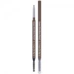 Фото Limoni Super Slim Brow Pencil - Карандаш для бровей тон 02, светло-коричневый