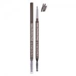 Фото Limoni Super Slim Brow Pencil Mahogany - Карандаш для бровей тон 01, коричневый