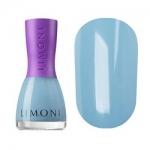 Фото Limoni Vinyl Collection - Лак для ногтей устойчивый тон 830, голубой, 7 мл