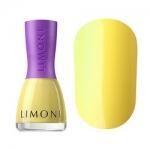 Фото Limoni Vinyl Collection - Лак для ногтей устойчивый тон 833, желтый, 7 мл