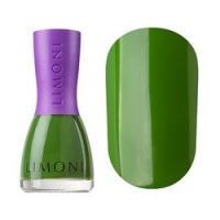 Limoni Vinyl Collection - Лак для ногтей устойчивый тон 834, зеленый, 7 мл