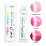 Фото Lisap Milano Lisaplex Pastel Colors Pink Bubble - Полуперманентная краска для волос, розовая тянучка, 60 мл