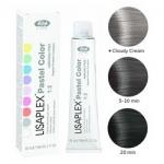Фото Lisap Milano Lisaplex Pastel Colors Smoky Crystal - Полуперманентная краска для волос, дымчатый кристалл, 60 мл