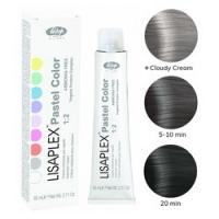 Lisap Milano Lisaplex Pastel Colors Smoky Crystal - Полуперманентная краска для волос, дымчатый кристалл, 60 мл