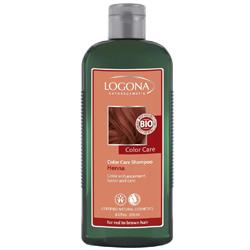 Logona Color Care Henna - Шампунь для рыжих и коричневых волос с хной, 250 мл