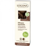Фото Logona Color Creme Herbal Hair Colour Nougat Brown - Крем-краска для волос, тон Коричневая Нуга, 150 мл