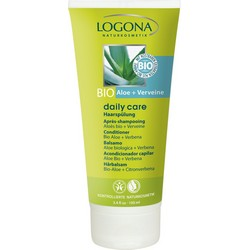 Logona Daily Care Organic Aloe Verbena Conditioner - Кондиционер для волос с Био-Алоэ и Вербеной, 100 мл