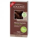 Logona Powder Chocolate Brown - Краска растительная для волос, тон 091 Шоколадно-коричневый, 100 г