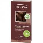 Logona Powder Walnut Brown - Краска растительная для волос, тон 060 Орех красно-коричневый, 100 г