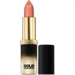 Фото L'Oreal Color Riche Gold Obsession - Губная помада, тон Бежевое золото, 4,5 мл