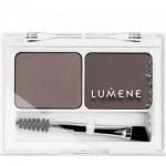 Фото Lumene Nordic Chic - Палетка теней для макияжа бровей, тон средний коричневый, 3,6 г