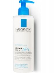 Фото La Roche Posay Lipikar Syndet AP - Крем-гель очищающий и восстанавливающий для лица и тела, 400 мл