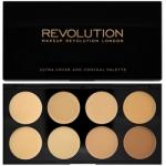 Фото Makeup Revolution Cover and Conceal Light Medium - Палетка консилеров