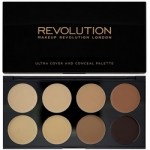 Фото Makeup Revolution Cover and Conceal Medium Dark - Палетка консилеров