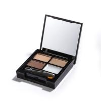 Makeup Revolution Focus and Fix Brow Kit Light Medium - Набор для оформления бровей, 5,8 г