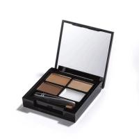 Makeup Revolution Focus and Fix Brow Kit Medium Dark - Набор для оформления бровей, 5,8 г