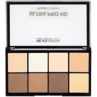 Makeup Revolution HD Pro Powder Contour Light Medium - Палетка для контурирования
