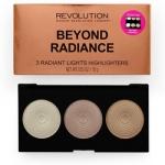 Фото Makeup Revolution Highlighter Palette Beyond Radiance - Палетка хайлайтеров