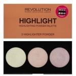 Фото Makeup Revolution Highlighter Palette Highlight - Палетка хайлайтеров