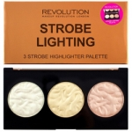 Фото Makeup Revolution Highlighter Palette Strobe Lighting - Палетка хайлайтеров