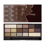 Фото Makeup Revolution I heart Makeup Wonder Palette Death By Chocolate - Палетка теней для век, тон темный шоколад