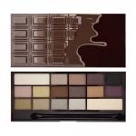 Фото Makeup Revolution I heart Makeup Wonder Palette Death By Chocolate - Палетка теней для век, тон темный шоколад
