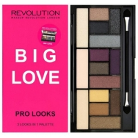 Makeup Revolution Pro Looks Palette Big Love - Тени для век