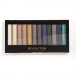 Фото Makeup Revolution Redemption Palette Essential Day to Night - Тени для век в палетке, 12 тонов, 13 г