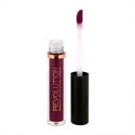 Фото Makeup Revolution Salvation Velvet Lip Lacquer Rebel - Жидкая помада, тон бордовый