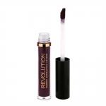 Фото Makeup Revolution Salvation Velvet Lip Lacquer Vamp - Жидкая помада, тон темно-фиолетовый