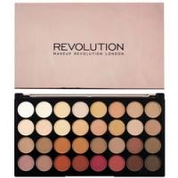 Makeup Revolution Ultra 32 Shade Eyeshadow Palette Flawless 3 Resurrection - Палетка теней
