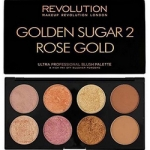 Фото Makeup Revolution Ultra Blush Palette Golden Sugar 2 Rose Gold - Палетка румян