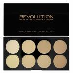 Фото Makeup Revolution Ultra Cover and Conceal Palette Light - Набор консилеров, 10 г