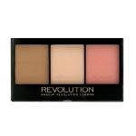 Фото Makeup Revolution Ultra Sculp and Contour Kit Ultra Fair C01 - Палетка для скульптурирования лица, 11 г