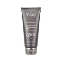 Matis Energizing Shower Gel 2 In 1 - Гель энергетический для тела и волос 200 мл