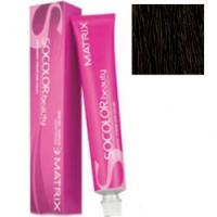 Matrix Socolor.beauty - Крем-краска перманентная 6MA темный блондин мокка пепльный, 90 мл