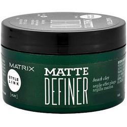 Фото Matrix Style Link Matte Definer - Матовая глина для волос, 100 гр