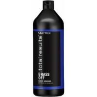 Matrix Total Results Brass Off - Кондиционер для глубокого питания холодный блонд, 1000 мл<br>