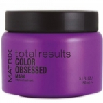 Matrix Total Results Color Obsessed Intensive Mask - Маска для защиты цвета окрашенных волос, 150 мл
