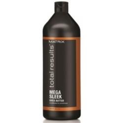 Matrix Total Results Mega Sleek Conditioner - Кондиционер с маслом ши для гладкости волос, 1000 мл.
